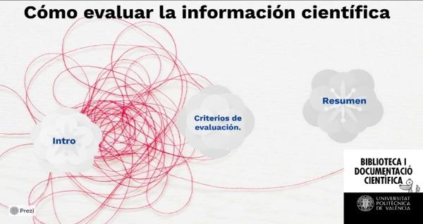 Cómo evaluar la información científica