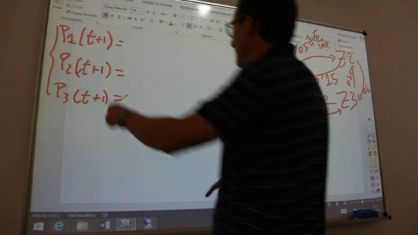 Modelo de Markov en Excel: movimiento de peces en 3 caladeros