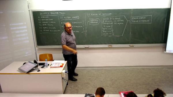 Lección 1. Ecuación de dimensiones