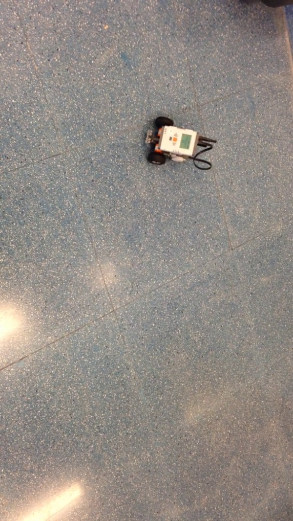 Lego MindStorms Trayectoria Circular