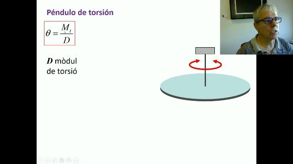 Péndulo de torsión