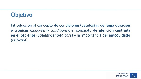 Unidad 1 - Lección 2 - Enfermedades de larga duración