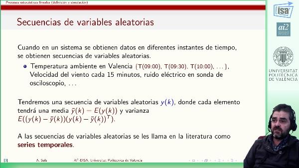 Series temporales y procesos estocásticos lineales (tiempo discreto)