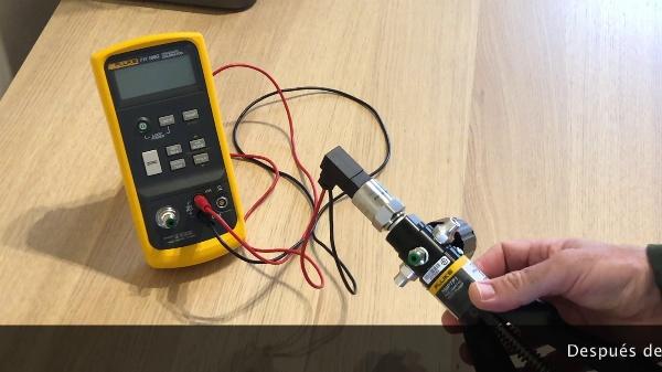 Calibración de un transmisor de presión