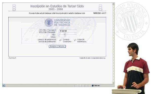 Automatrícula 3er ciclo (valencià)