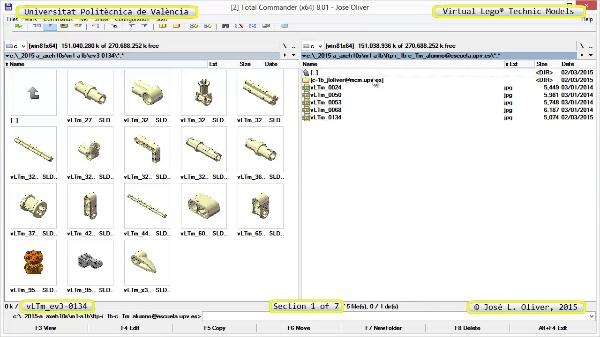 Creación Virtual Modelo Lego Technic - Isogawa ¿ ev3-0134 ¿ 1 de 7