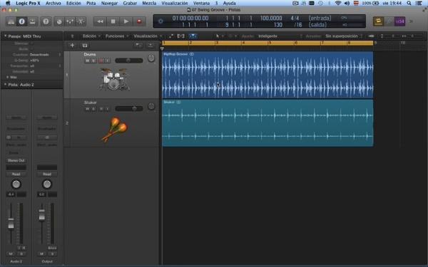 Tutorial Logic Pro X 7.4 Tempo y altura: pista de groove