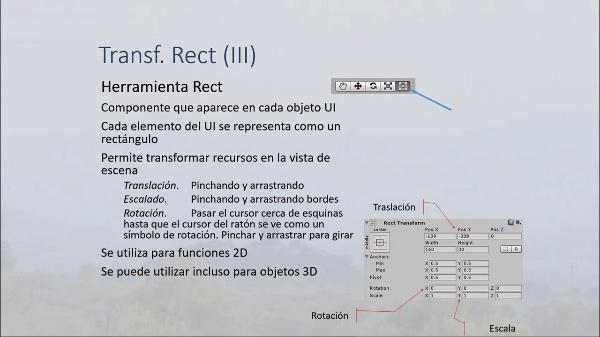 Recursos IU en Unity 3D. Transformaciones, anclas y pivotes