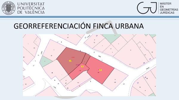Georreferenciación parcela urbana