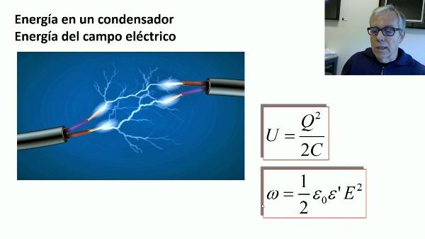 Energía del campo eléctrico: ejemplos