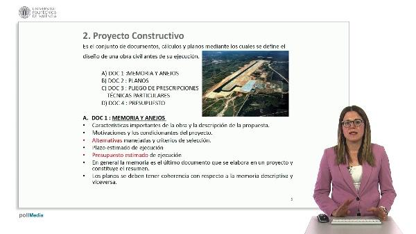 Ingeniería aeroportuaria. Proyecto constructivo