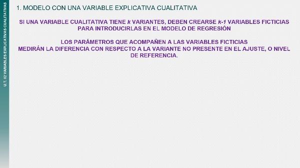 UT02T2 Interpretación de parámetros - una variable cualitativa