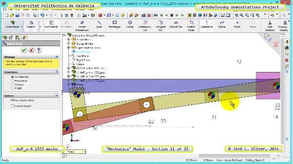 Simulación Mecanismo a-4-1153 con Mechanica - 11 de 25 - Parametrización