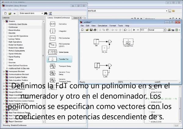Tutorial Simulink. Simulación de sistemas dinámicos en FdT