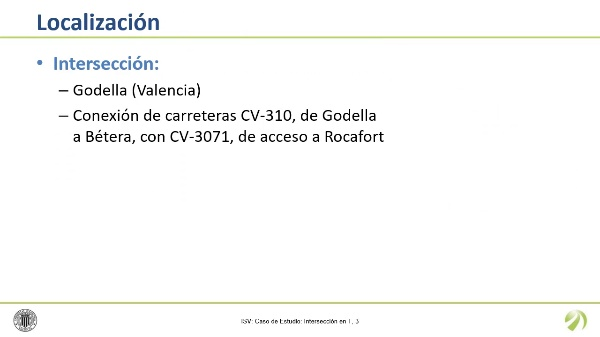 Inspección de Seguridad Vial - Caso de Estudio: Intersección en T