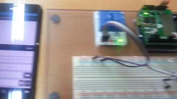 Arduino. Control de relés desde móvil vía Bluetooth