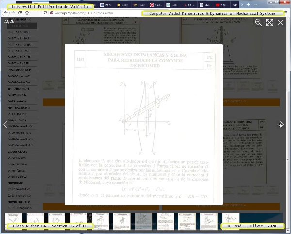 Mecánica y Teoría de Mecanismos ¿ 2020 ¿ MM - Clase 04 ¿ Tramo 06 de 11