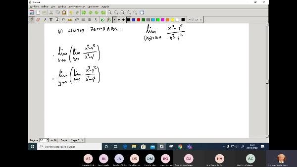 Matematicas 1 GITI grupo A Clase 15