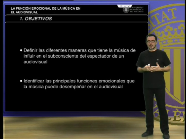 La función emocional de la música en el audiovisual