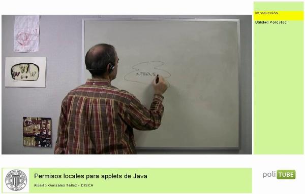 Permisos locales para applets de Java