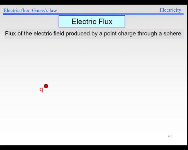 Elec-1-Flux-S61-Flux point charge