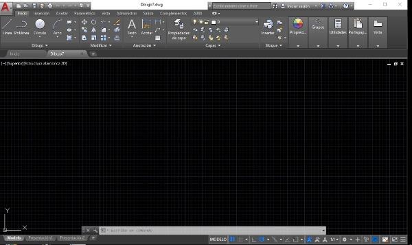 Autocad-Coordenadas del espacio modelo