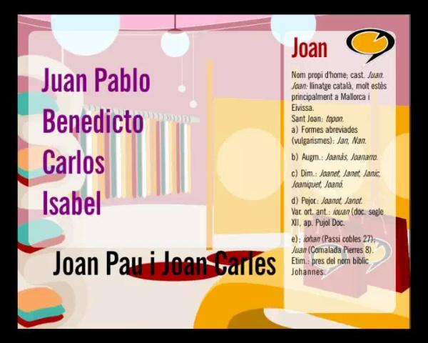 Tenim paraula: Joan Carles i Benet
