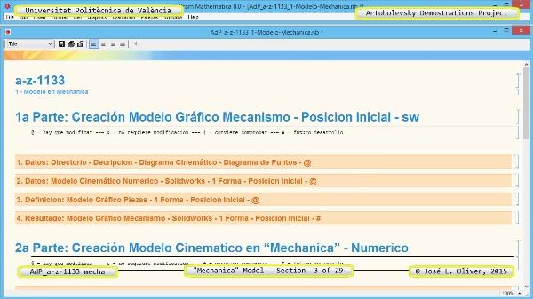 Simulación Mecanismo a-z-1133 con Mechanica - 03 de 29
