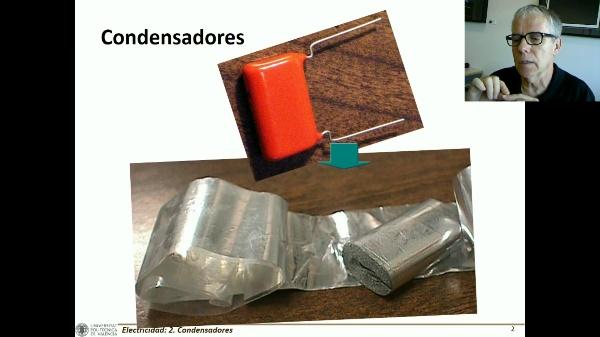 Efecto de los aislantes en los condensadores I C