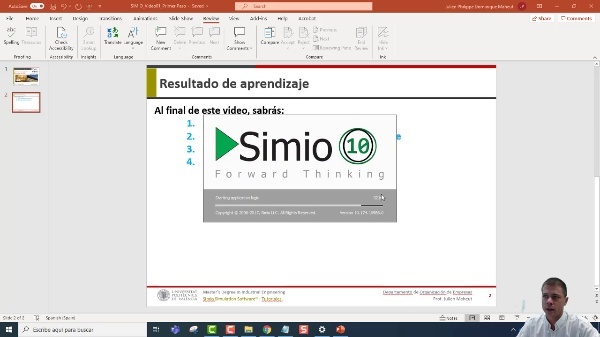 Primer Paso con SIMIO Simulation Software