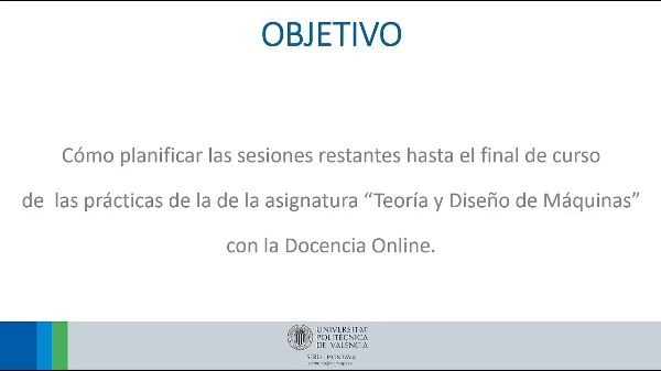 DOCENCIA ONLINE - TDM (COVID-19)
