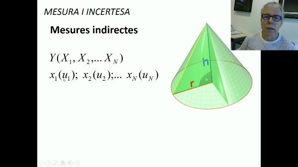 Determinació d'incertesa en mesures indirectes