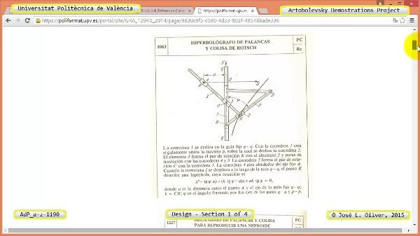 Creación Virtual Mecanismo a-z-1190 con Solidworks - 1 de 4