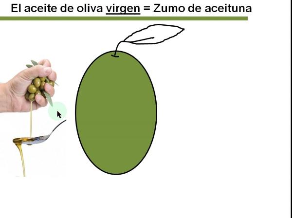Aceite de oliva virgen: Elaboración y características
