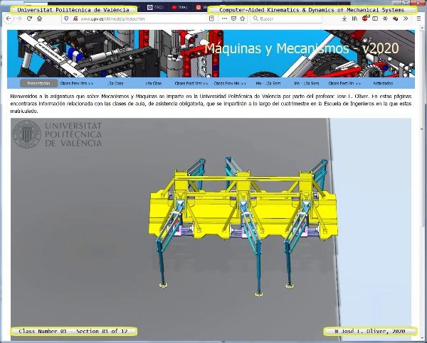 Mecánica y Teoría de Mecanismos ¿ 2020 ¿ MM - Clase 01 ¿ Tramo 01 de 12