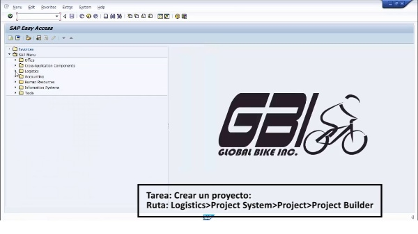 Tutorial de SAP (G.B.I. 2.20): Gestión de Proyectos (PS). Planificación.