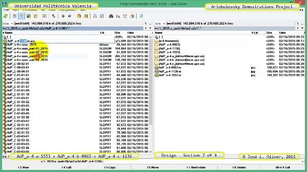 Creación Virtual Mecanismos a-4-1553-0963-1136 con Solidworks - 7 de 9