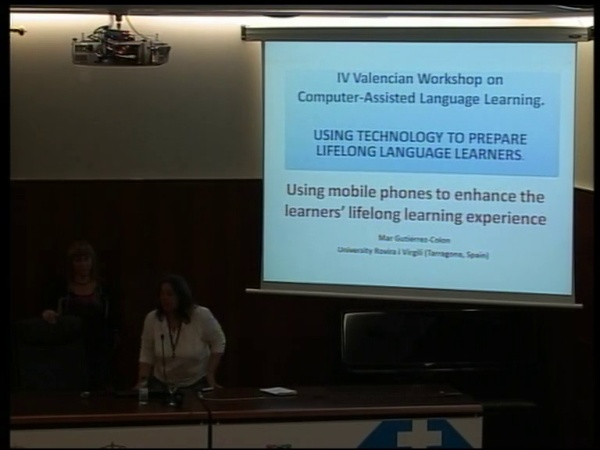 Mar Gutiérrez-Colon Plana: Using mobile phones to enhance the learner's lifelong learning experience