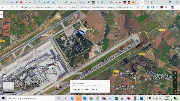 Cálculo de capacidad de un sistema de pistas usando la norma de la FAA 4