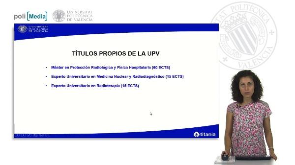 Presentación Títulos Protección Radiológica y Física Hospitalaria
