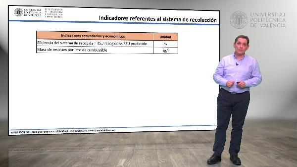 3.05.- Indicadores referentes al sistema de recolección de RSU