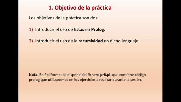 Practica 8 LTP: Introducción a listas en Prolog