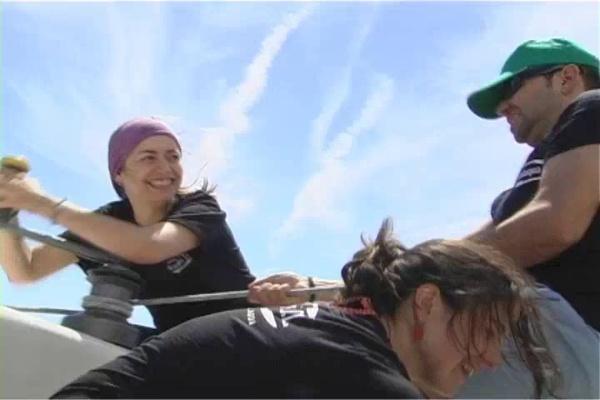 Activa-t y el trabajo en equipo en una regata