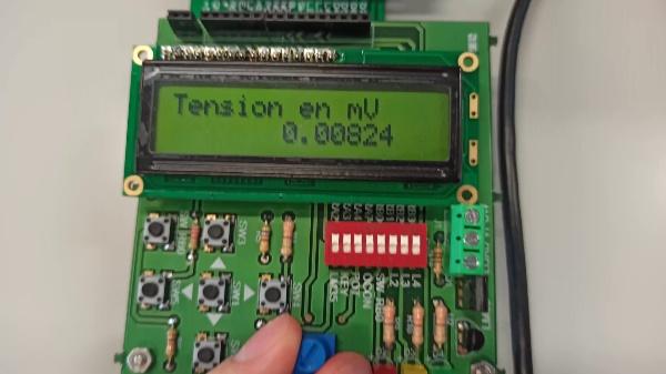 Medidor de tensión Arduino potenciometro