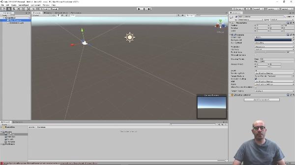Grafos de escena en Unity 3D. Ejemplo práctico. Sistema Solar