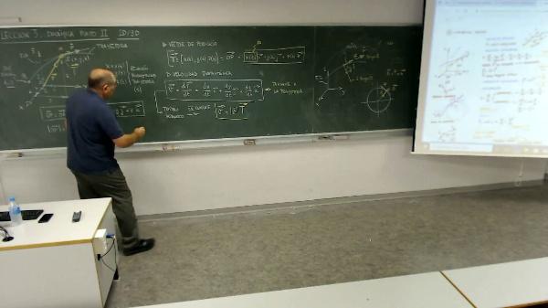 Física 1. Lección 3. Dinámica del punto 3D.Aceleración