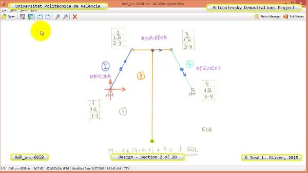 Creación Virtual Mecanismo a-c-0658 con Solidworks - 02 de 10