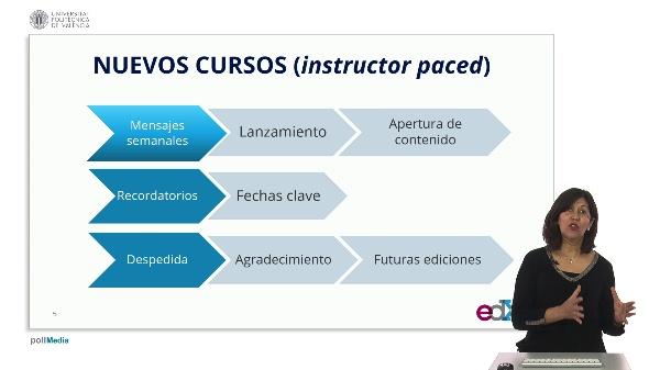 SPOC Gestión de MOOC. Universidad Carlos III de Madrid. Tipos de mensajes UC3M (2)