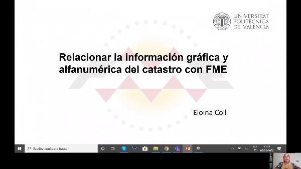 Relacionar información gráfica y alfanumérica con FME.
