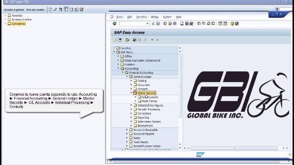 Tutorial de SAP (G.B.I. 2.20): Contabilidad Financiera (FI) (Caso de Estudio SAP UA)